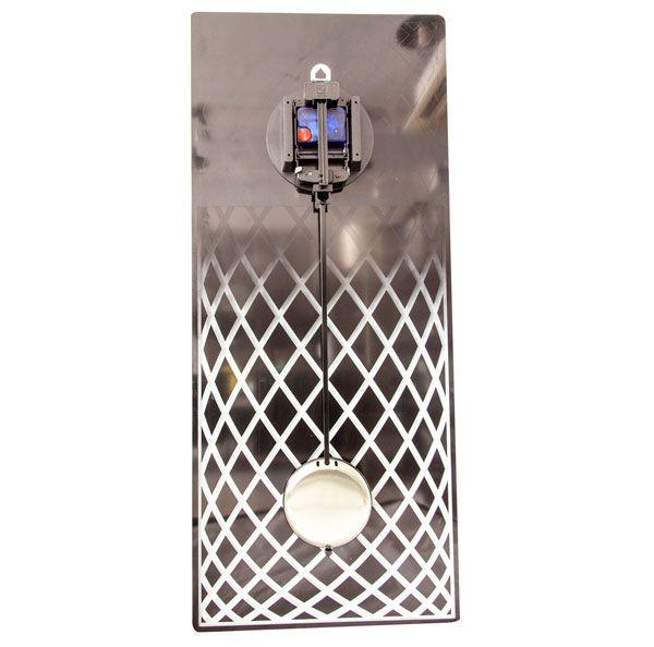 Relógio Parede Retangular Mirror  Nextime  - Arrivo Mobile