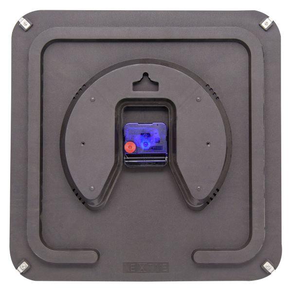 Relógio Parede Square Dome Black  Nextime  - Arrivo Mobile