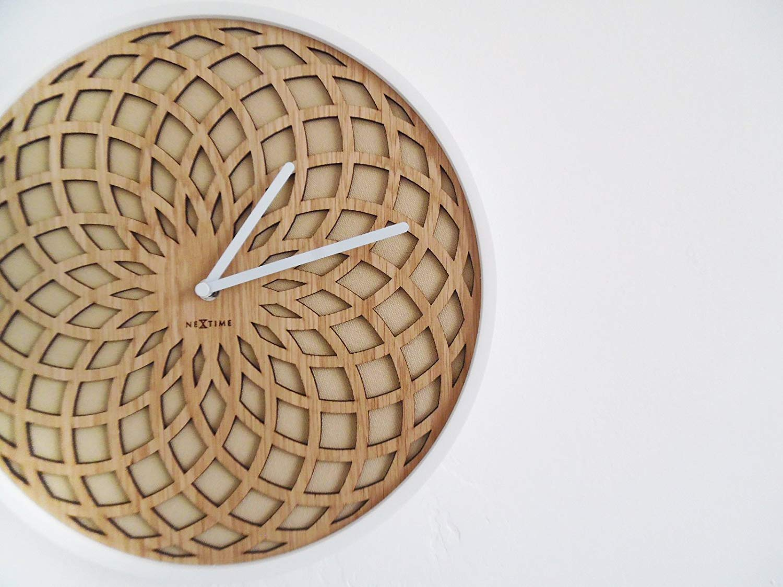Relógio Parede Sun Small Bege  Nextime  - Arrivo Mobile