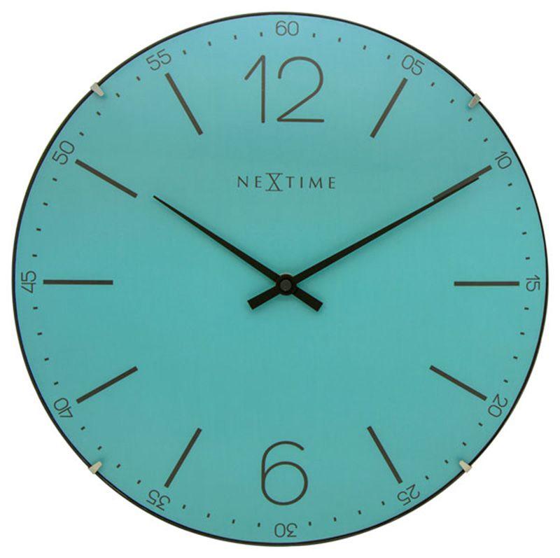 Relógio Parede Turquesa  Nextime  - Arrivo Mobile