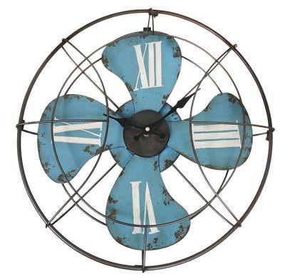 Relógio Ventilador de Parede 46cm x 46cm x 4cm  - Arrivo Mobile
