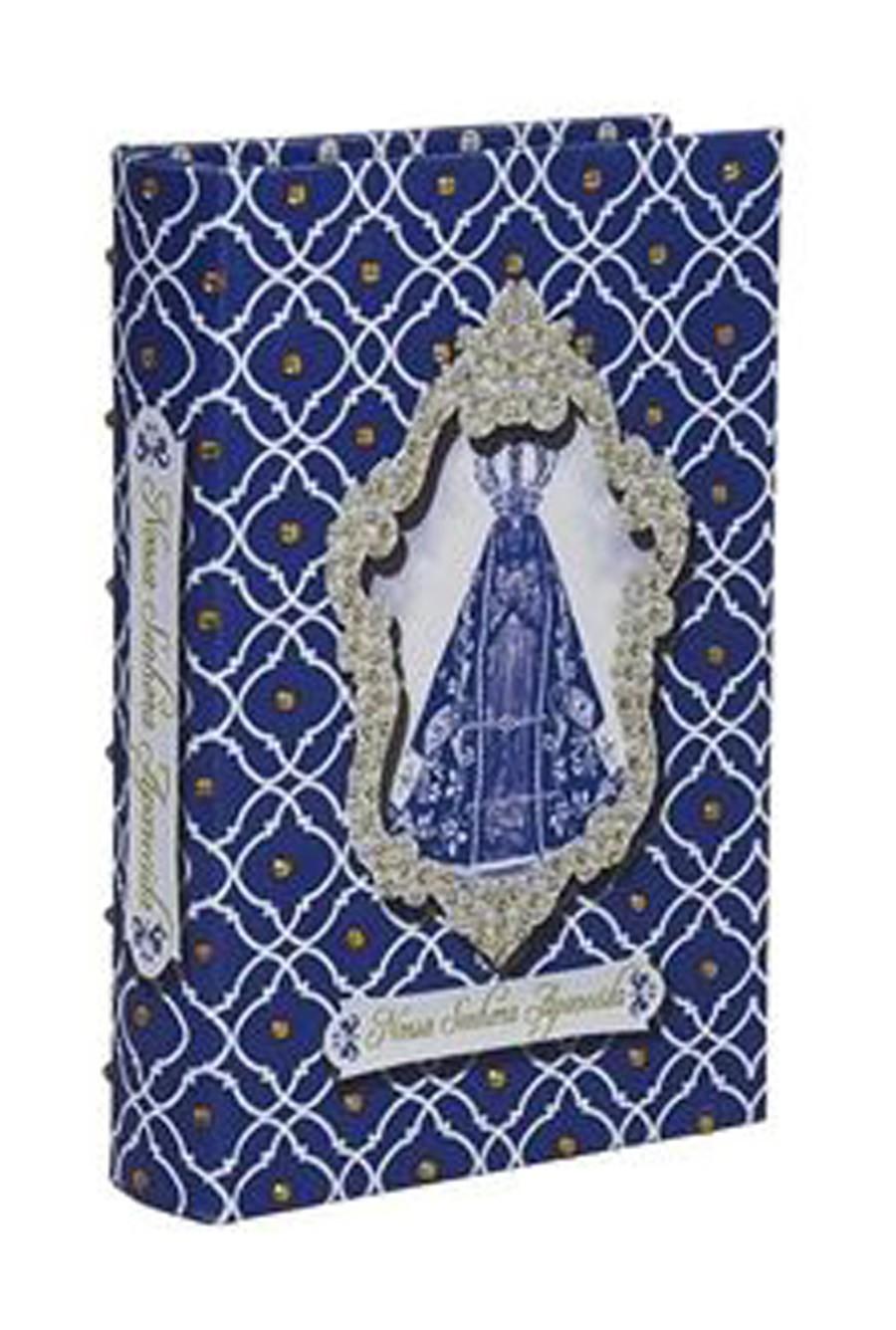 Royal Premium - Livro Caixa Nossa Srª Aparecida 24x15x4cm  - Arrivo Mobile