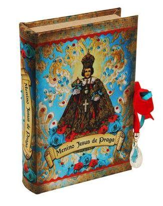 Santos - Livro Caixa Menino Jesus De Praga  - Arrivo Mobile