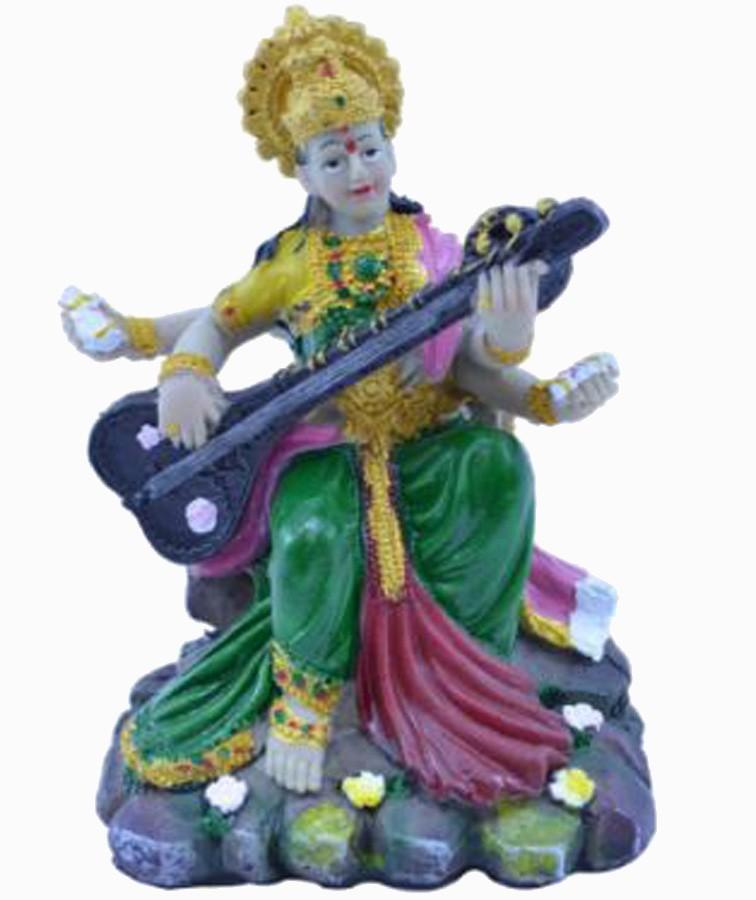 Estatua Imagem de Saraswati P De Resina Importado  - Arrivo Mobile