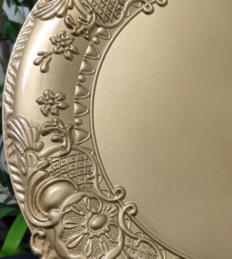 Sousplat Redondo Dourado 38 cm - 428  - Arrivo Mobile