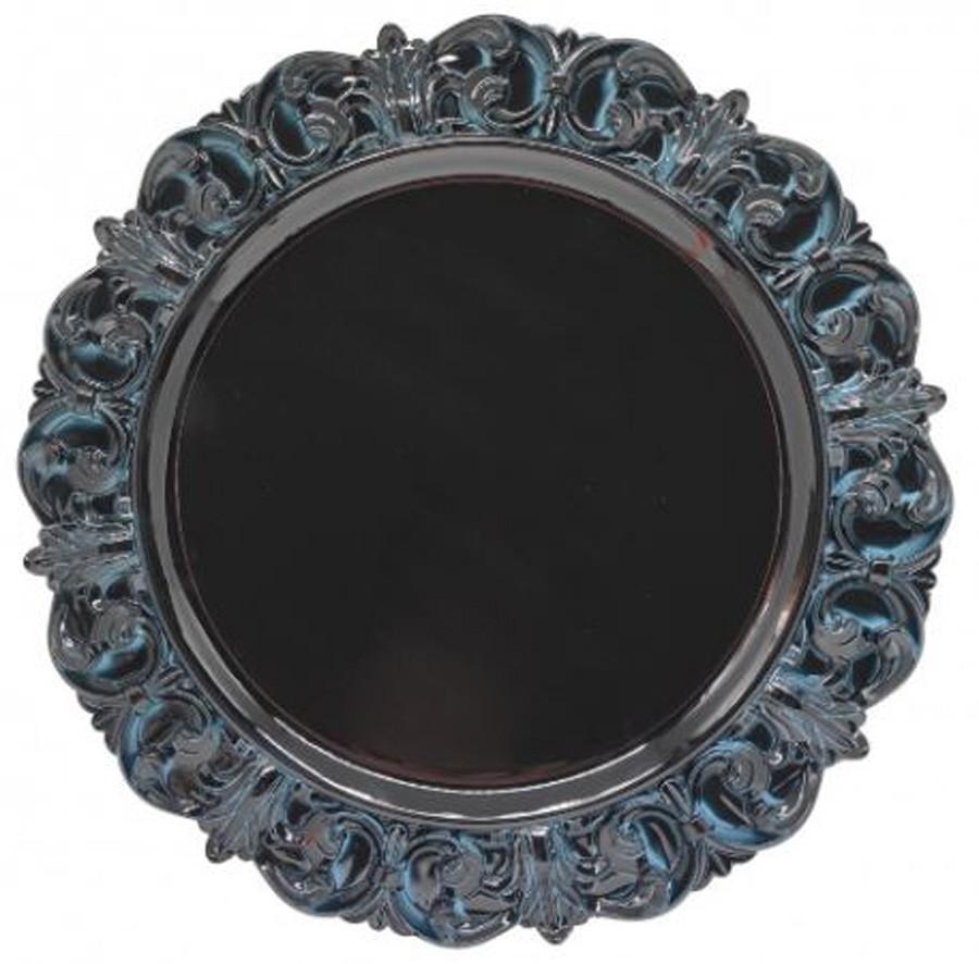 Sousplat Redondo Princess Azul 35cm - 1185  - Arrivo Mobile