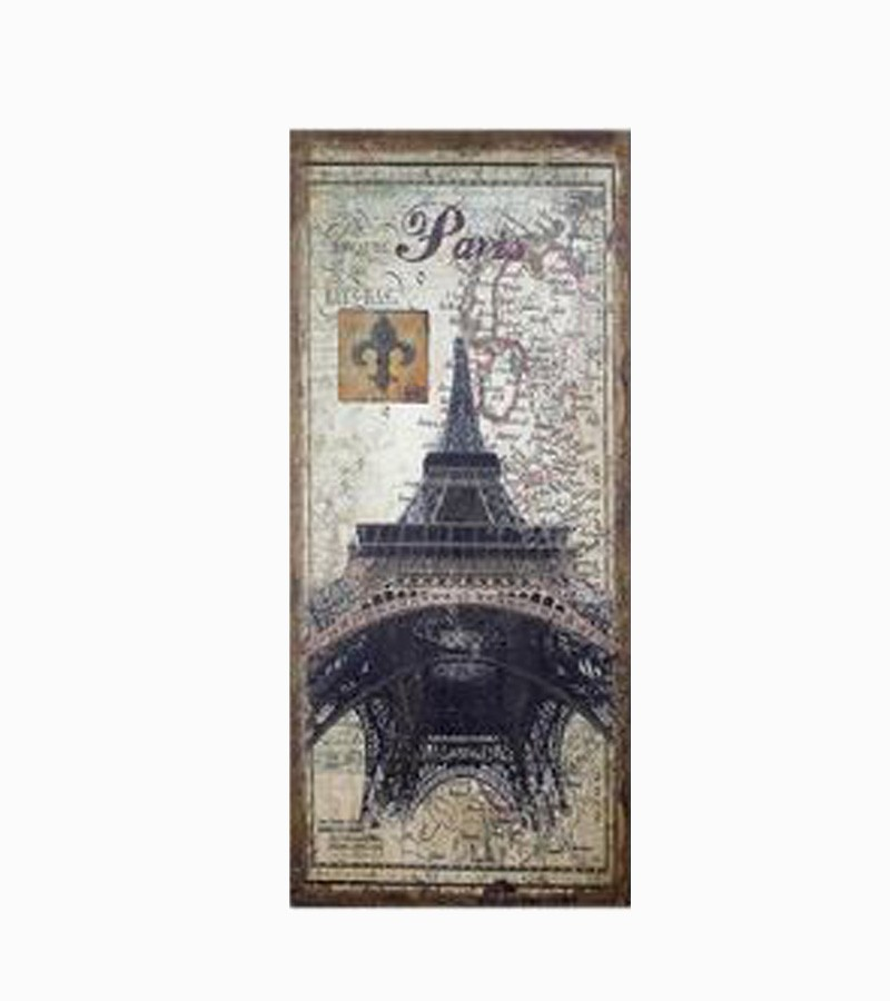 Tela Antique Eiffel Paris Linho  - Arrivo Mobile