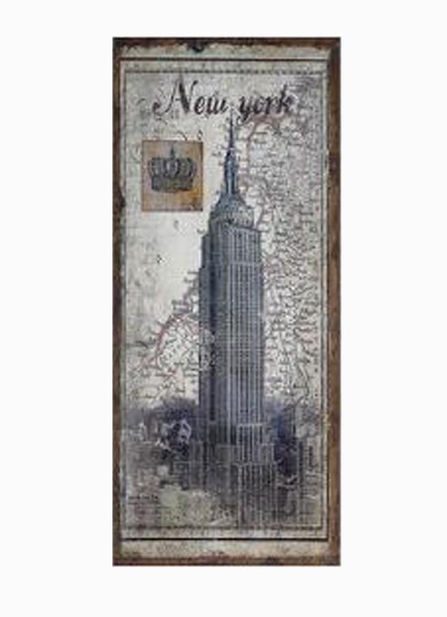 Tela Antique Empire New York Linho  - Arrivo Mobile