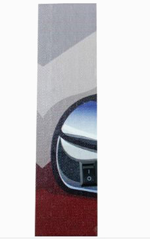 TELA IMP LED ROUTE 66 YELLOW FULLWAY 80X80X4CM  - Arrivo Mobile