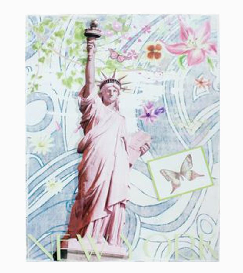 Tela Impressa Estátua Da Liberdade  - Arrivo Mobile