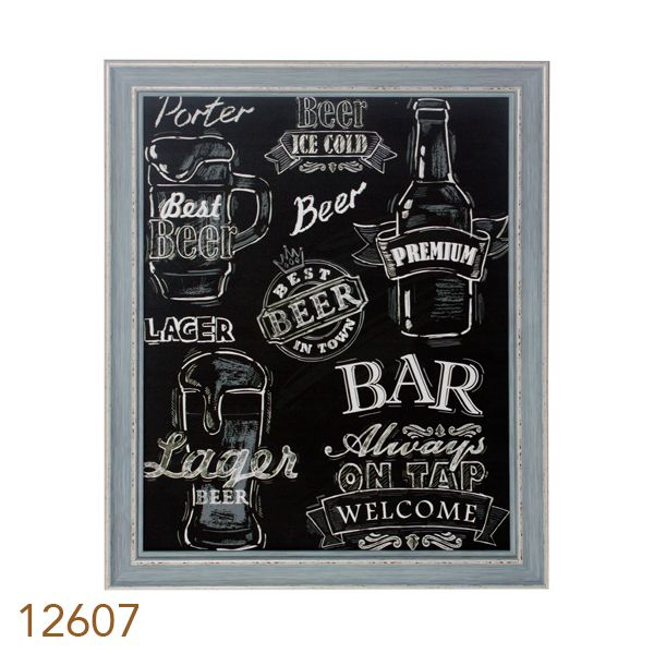 Tela Impressa  Mold Beer Bar Fullway  - Arrivo Mobile