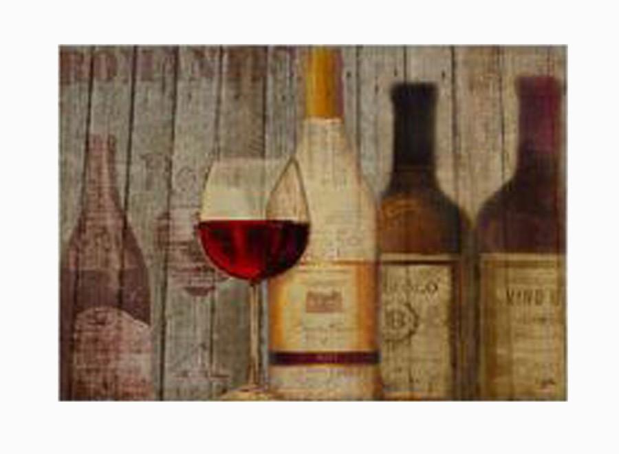 Tela Impressa Vinho Tinto   - Arrivo Mobile