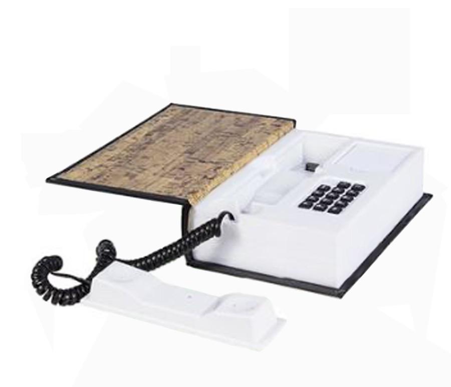 Telefone Mapa Mundi Book Phone Mapa 22x15x6cm  - Arrivo Mobile