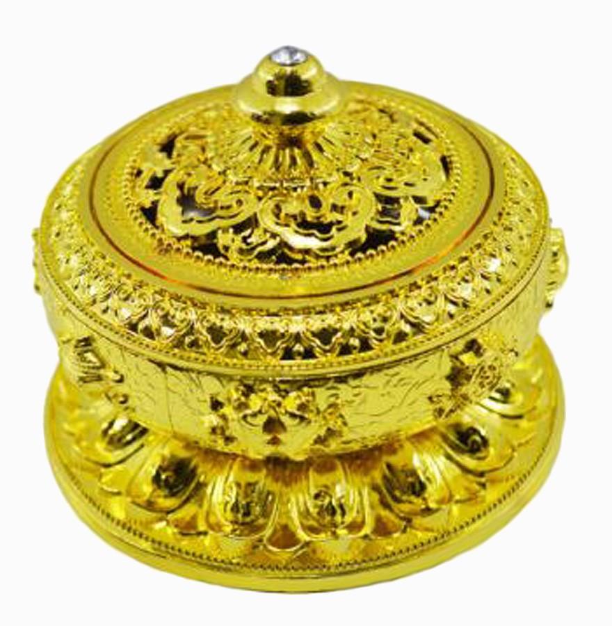 Turíbulo Defumador Incensario Dourado Importado  - Arrivo Mobile
