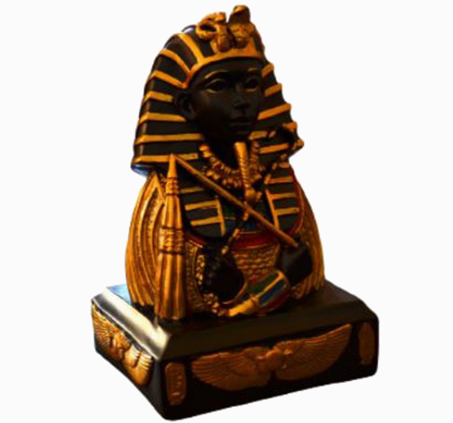 Estatua Imagem Egiptcia Tutankamon Importado 14 Cm  - Arrivo Mobile