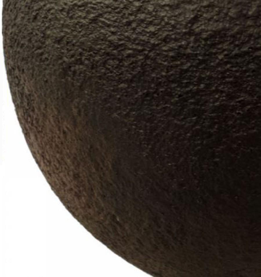 Vaso De Composto Mineral Marrom Redondo 24x30cm  - Arrivo Mobile