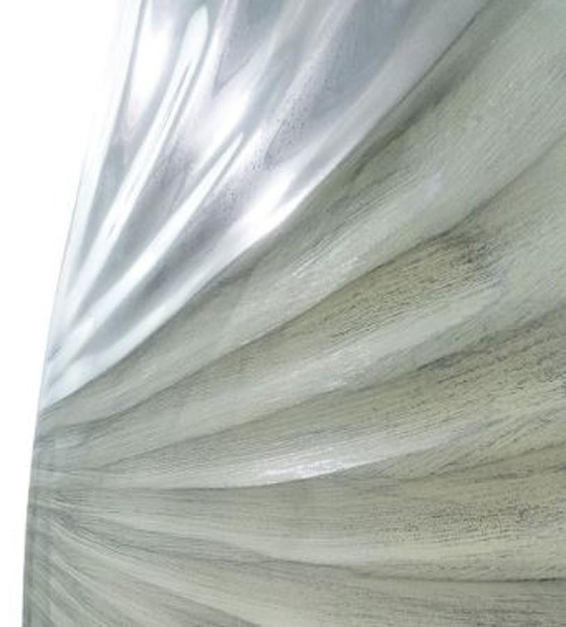 Vaso Decorativo Alumínio Pérola 46X24X10  - Arrivo Mobile