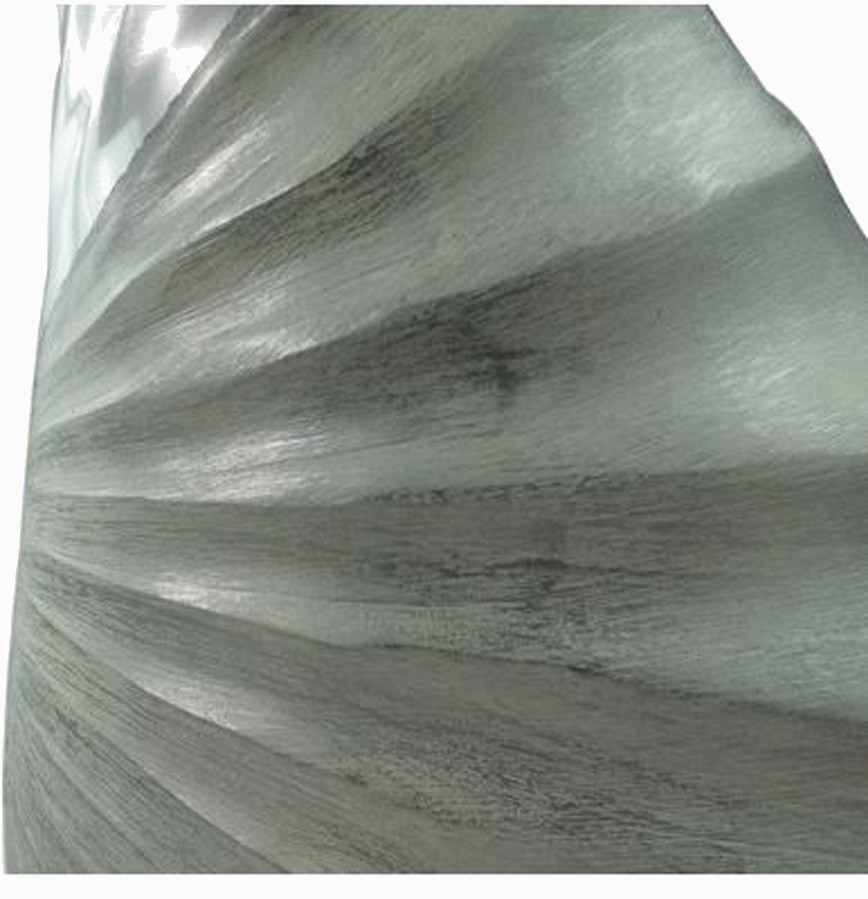 Vaso Decorativo Alumínio Pérola 50X24X5cm  - Arrivo Mobile