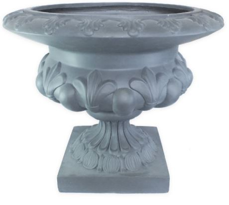 Vaso Decorativo Composto Mineral Redondo 58x48cm  - Arrivo Mobile