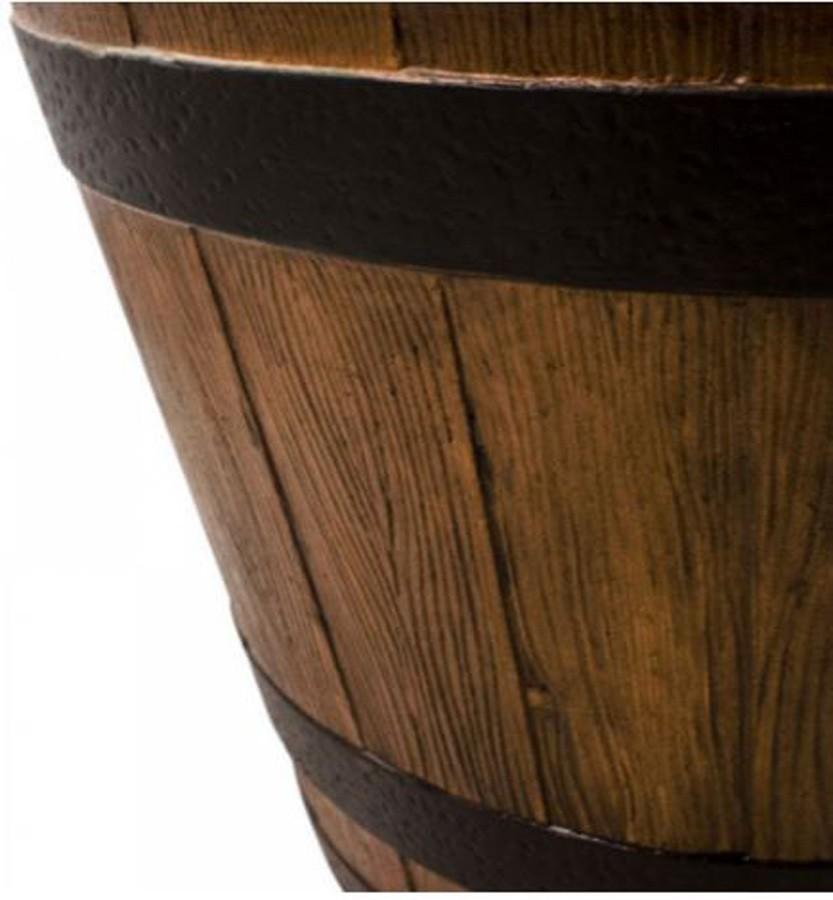 Vaso Decorativo de Composto Mineral Marrom 30x45cm  - Arrivo Mobile