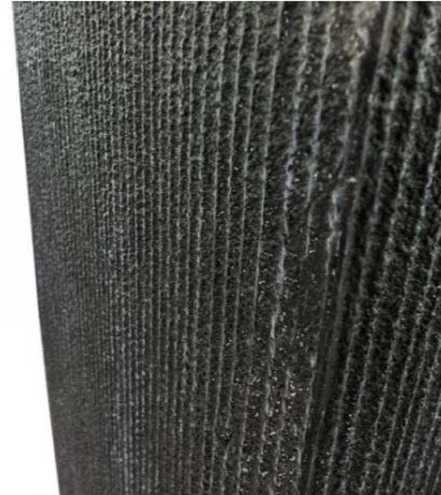 Vaso Decorativo De Composto Mineral Preto Ret. 60x26cm  - Arrivo Mobile