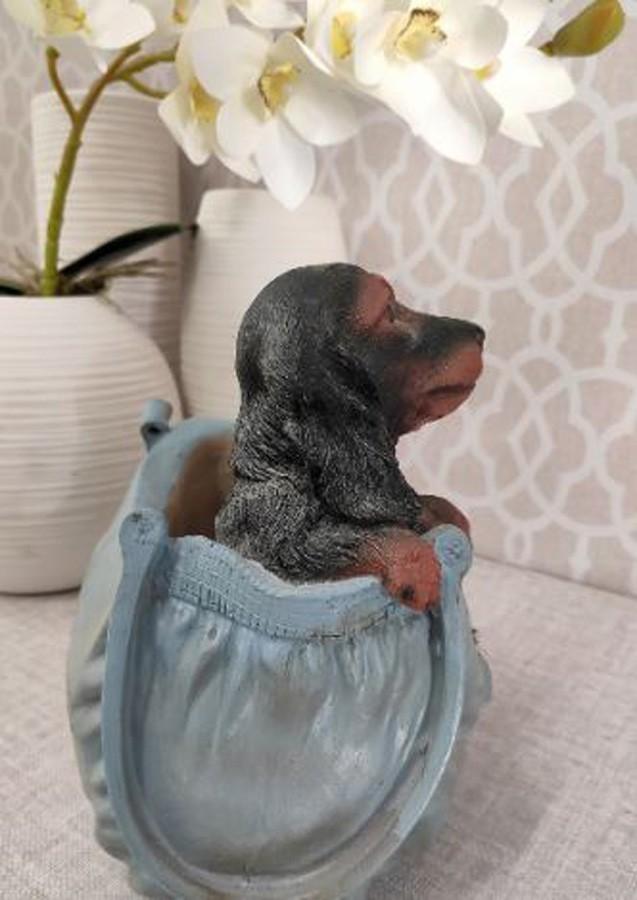 Vaso Para Jardim De Resina Cachorro  - Arrivo Mobile