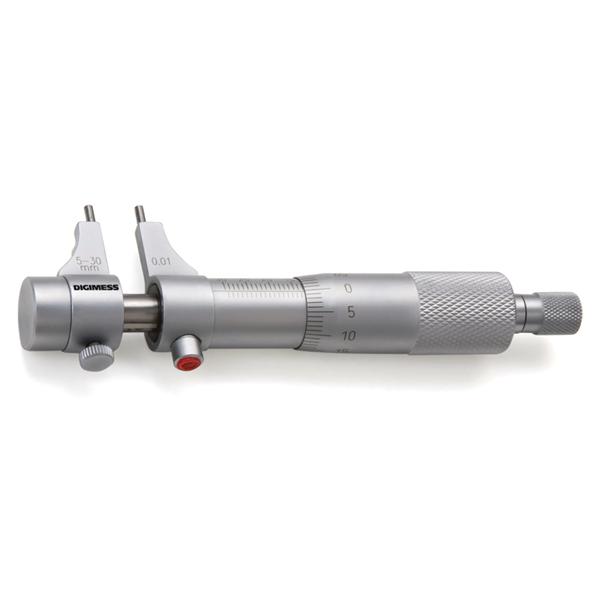 Micrômetro Interno Tipo Paquímetro – Cap. 100-125 mm - Graduação De 0,01mm - DIGIMESS