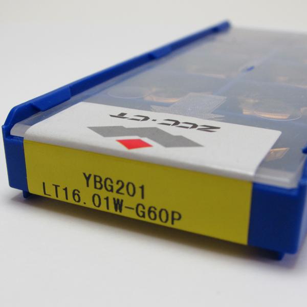 Pastilha de Rosca 16 Interna 60º - LT16.01W-G60P YBG201 - Caixa com 10 Peças - ZCC-CT