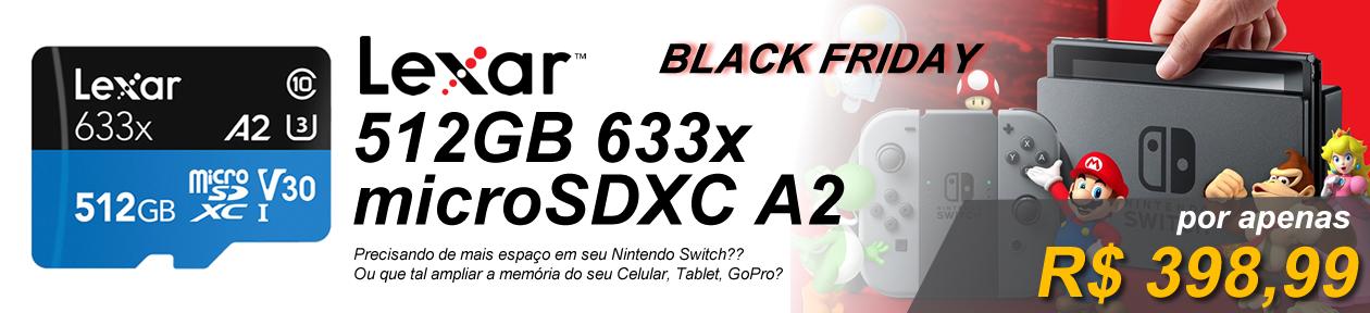 microSD LEXAR 512GB