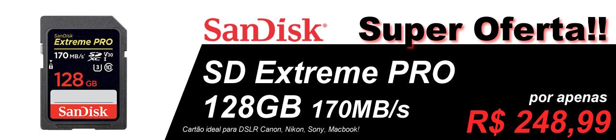 SD EXTREME PRO 128GB