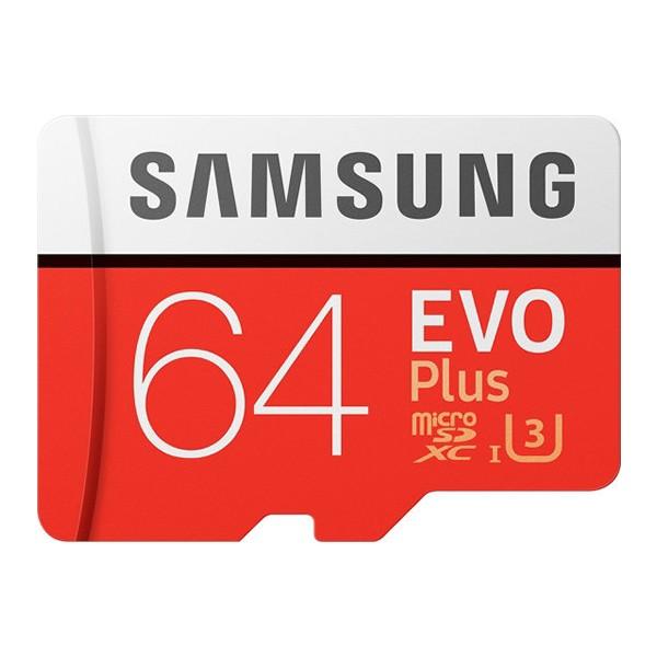 Cartão Micro SD Samsung EVO Plus 64GB U3 Classe 10 microSD SDXC