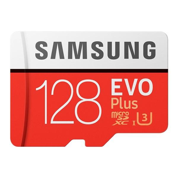 Cartão Micro SD Samsung EVO Plus 128GB U3 Classe 10 microSD SDXC