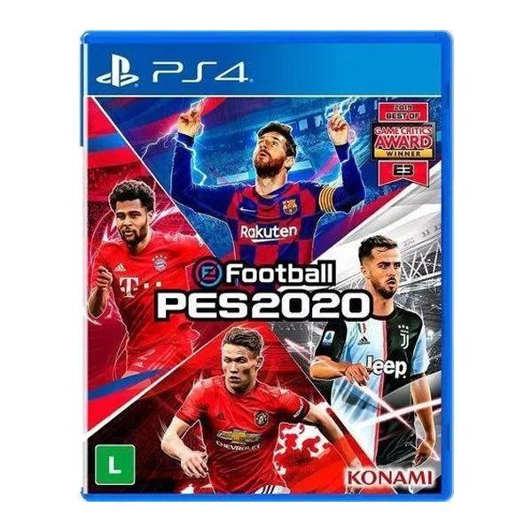 eFootball PES2020 PS4 MIDIA FISICA LACRADA PES 2020