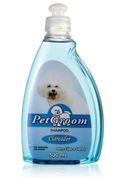 SHAMPOO CLAREADOR PETGROOM - 500ML