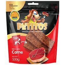 BIFINHO PETITOS SABOR CARNE 500G