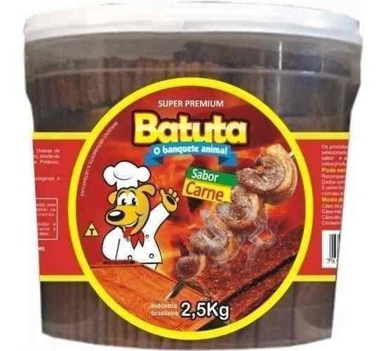 BIFINHO SABOR CARNE BALDE 2,5KG BATUTA