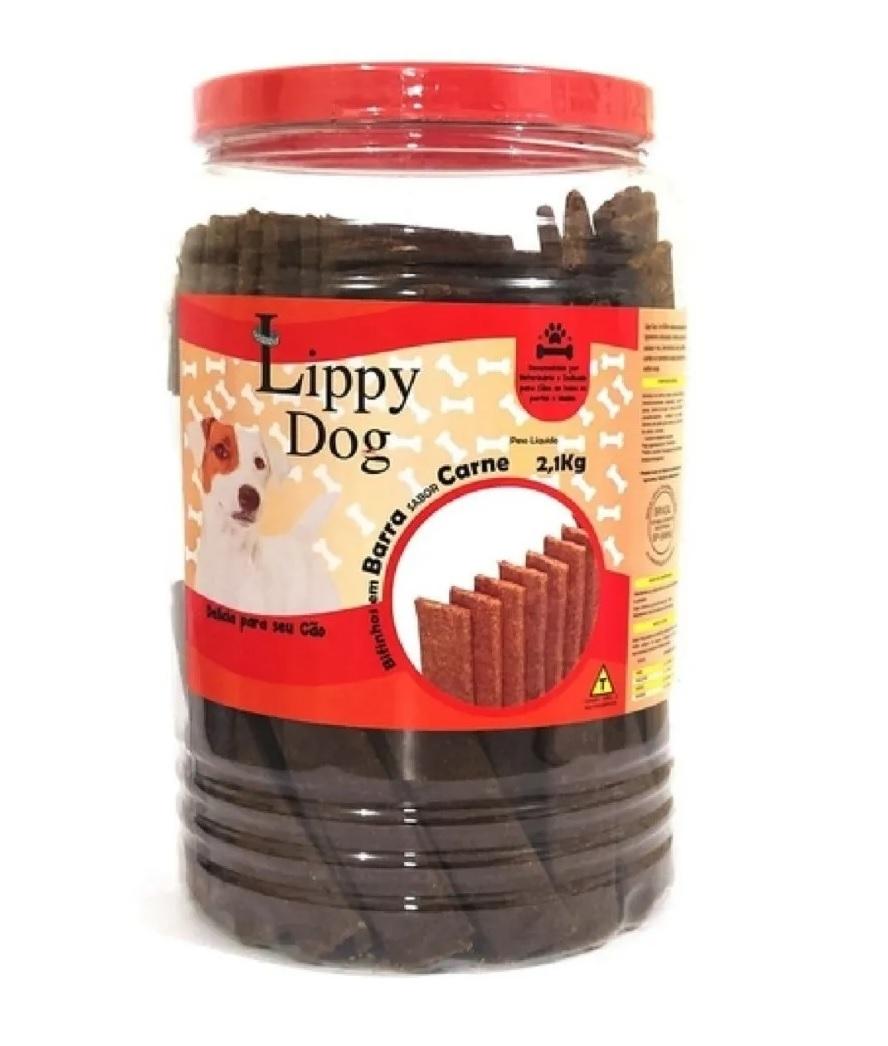 Bifinho Sabor Carne Para Cães 2,1kg - Lippy Dog