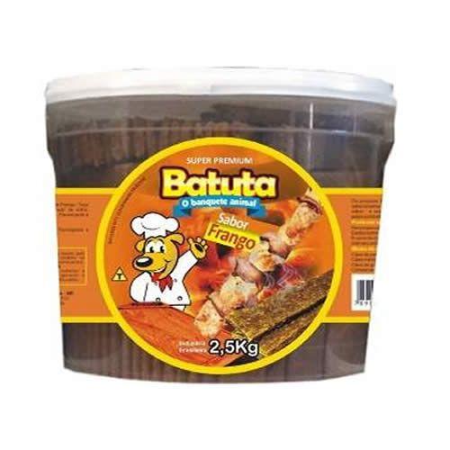 BIFINHO SABOR FRANGO BALDE 2,5KG BATUTA