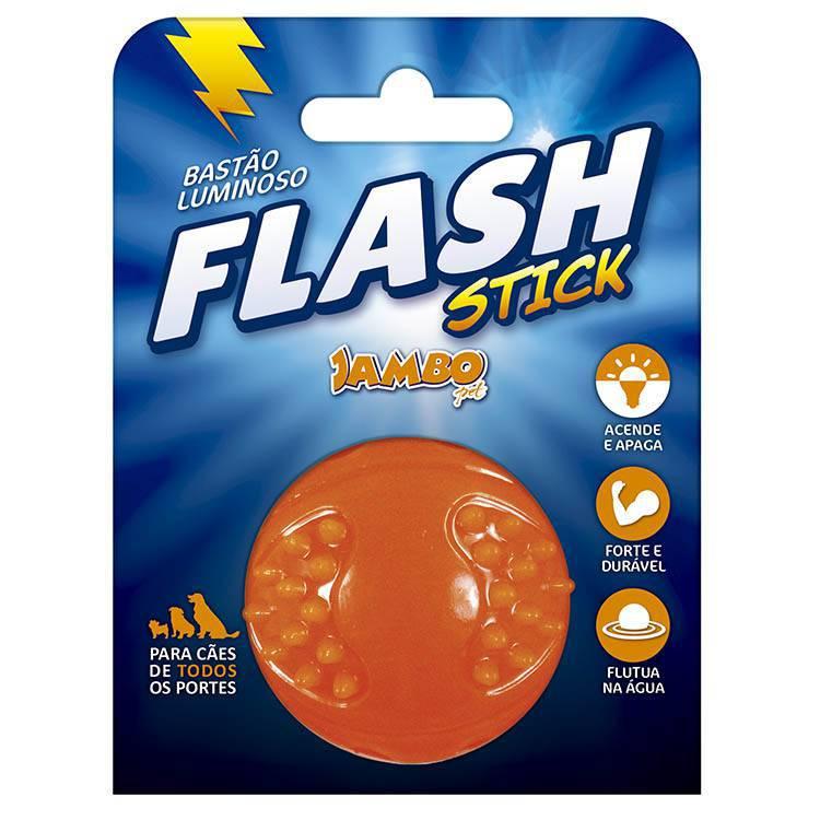 Bola Flash Luminosa TPR Laranja