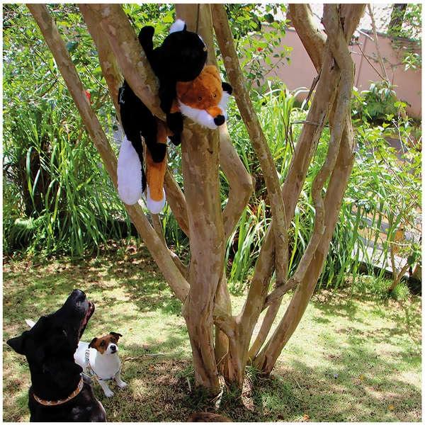Brinquedo Pelúcia Raposa Foxy para Cães - Mimo
