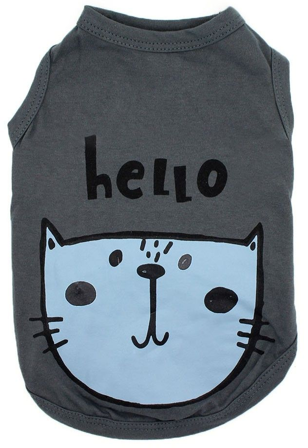 CAMISETA REGATA GREY HELLO