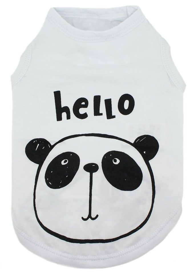 CAMISETA REGATA WHITE HELLO