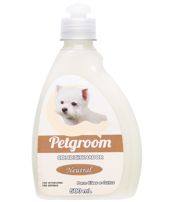 CONDICIONADOR NEUTRAL FILHOTES PETGROOM - 500ML