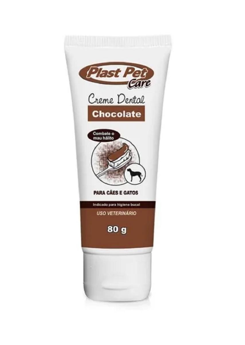 CREME DENTAL SABOR CHOCOLATE PLAST PET 80G