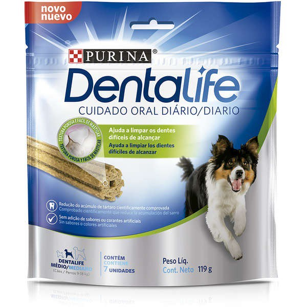 DENTALIFE PETISCO PARA CÃES MEDIO PORTE 119G - PURINA NESTLE