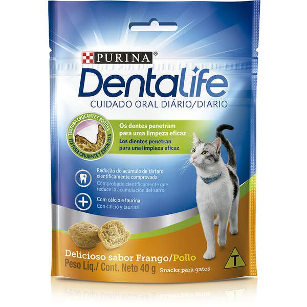 DENTALIFE PETISCO PARA GATOS 40G - PURINA NESTLE