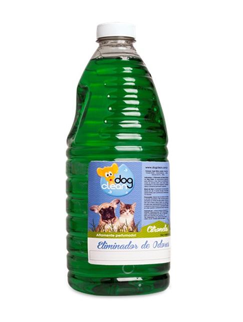 ELIMINADOR DE ODORES DOG CLEAN  2L - CITRONELA