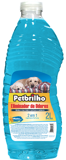 ELIMINADOR DE ODORES PETBRILHO 2L - MARINE