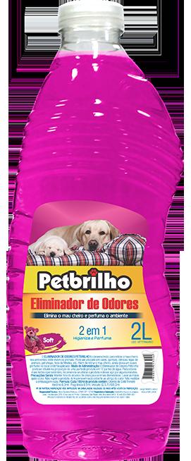 ELIMINADOR DE ODORES PETBRILHO 2L - SOFT