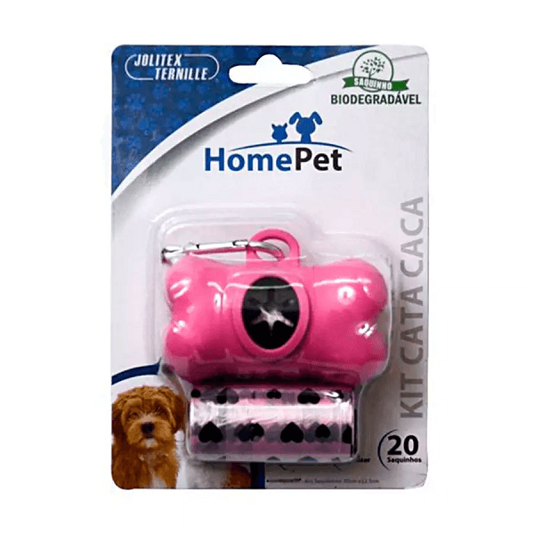 KIT CATA CACA HOME PET ROSA